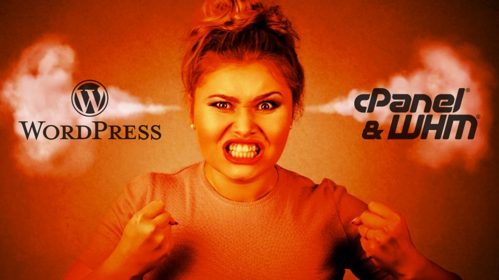 WordPress WHM/cPanel cURL error 28